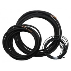 Mini Split Line Set - 1/4 in x 5/8 in - 50 ft for 2 and 3 Ton Single Zone