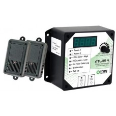 Titan Controls Atlas 4 - 2 Room CO2 Monitor/Controller