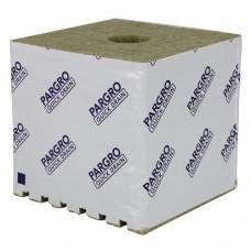 Grodan Pargro QD Biggie Block 6 in x 6 in x 6in w/ Hole /48 Pack