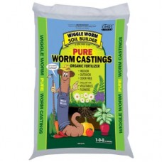 Wiggle Worm Soil Builder Earth Worm Castings 30 lb
