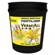 Vermicrop VermiAll Purpose Broad Spectrum Fertilizer 25 lb
