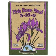 Down To Earth Fish Bone Meal -  6 lb