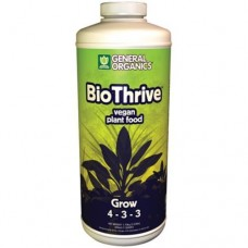 GH General Organics BioThrive Grow     Quart