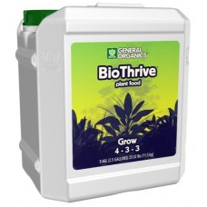 GH General Organics BioThrive Grow   2.5 Gallon