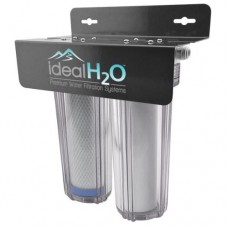 Ideal H2O De-Chlorinator System w/ Coconut Carbon Filter -  1,400 GPD
