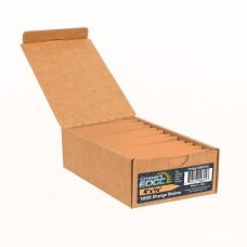 Grower's Edge Plant Stake Labels Orange - 1000/Box