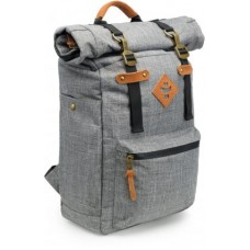 The Drifter Rolltop Backpack, Crosshatch Grey