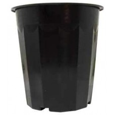 16 qt Black Plastic Bucket, pack of 50