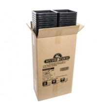 "5""x5"" Square Black Pot 7"" Tall, 100 per case"