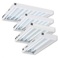 T5 2', 8 Bulb Fixture w/Grow Bulbs 25'' x 5'' x 28''