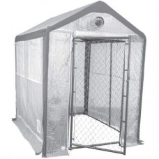 8' x 6' Secure Grow Chain Link Greenhouse