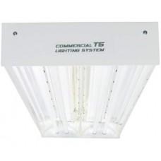 Quantum T5 4', 4 Bulb Fixture 216w